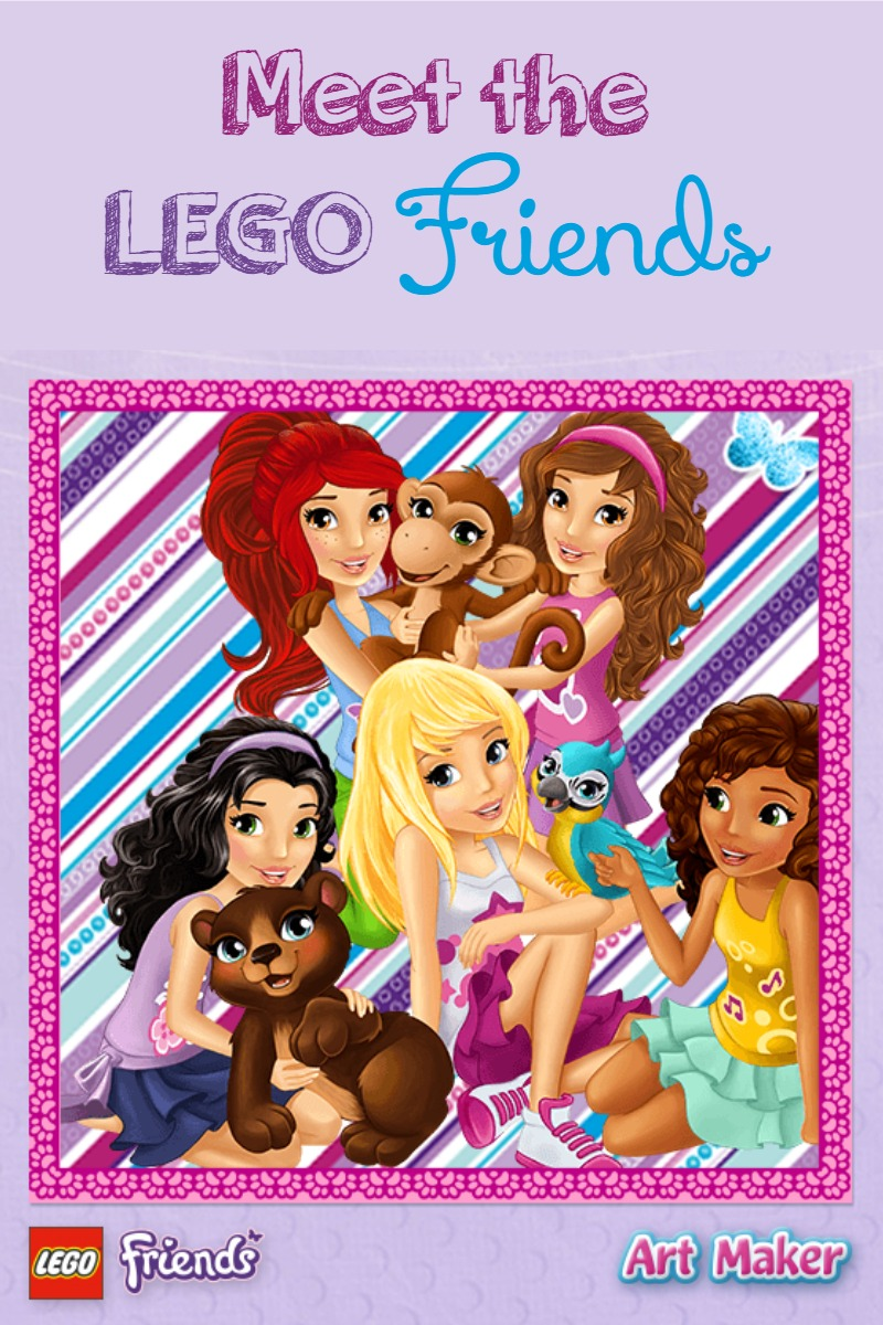 Do your kids love the fun LEGO Friends games and sets? Meet the characters behind these hugely popular toys for girls and start engaging with your daughter!