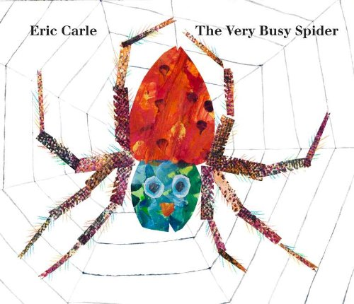 Very Busy Spider Spring Board Books for Babies