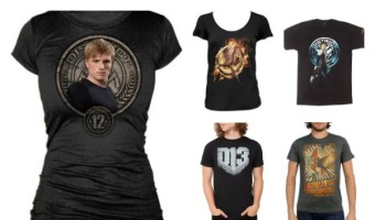 Show your solidarity and love for Katniss while awaiting Mocking Jay 2 with these 10 Hunger games t-shirts that are perfect for your summer wardrobe!