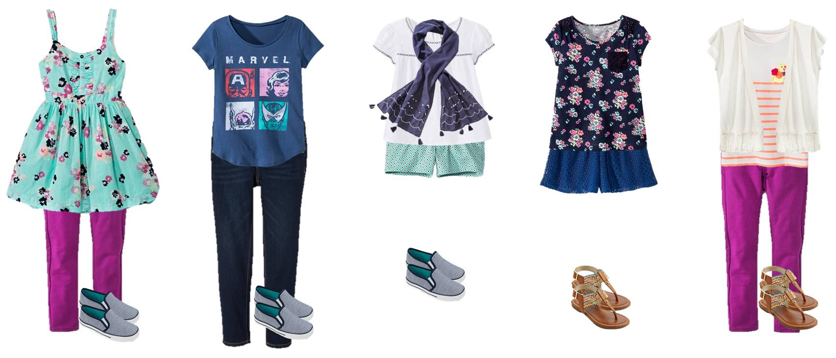 Looking for the coolest teen fashion for summer? Check out 15 amazing outfits, each with pieces under $20! Get the entire wardrobe for under $200!