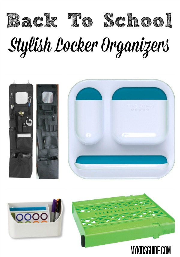 Don't let a messy locker ruin your day! Keep all your important school supplies together neatly with these stylish back to school locker organizers!