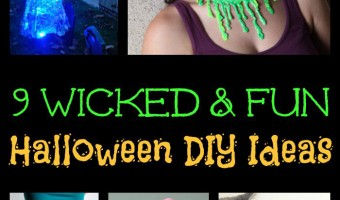 Happy Halloween! Use our roundup of wicked DIY ideas to create Halloween projects that are on point, easy to make and fun!