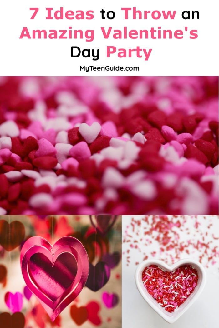 Throw an amazing Valentine's Day Party for teens! Your whole squad is going to love. these ideas that are a mix of sparkleand sweet!