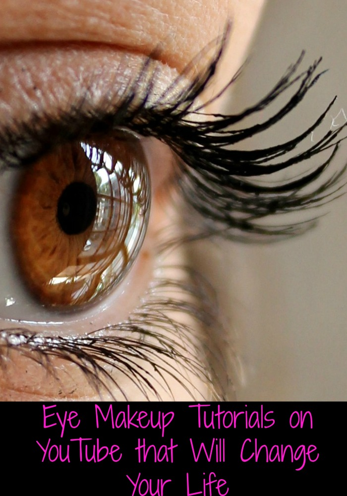 I have the eye makeup tutorials on YouTube that will change your life right here. You can thank me later when you look fab.