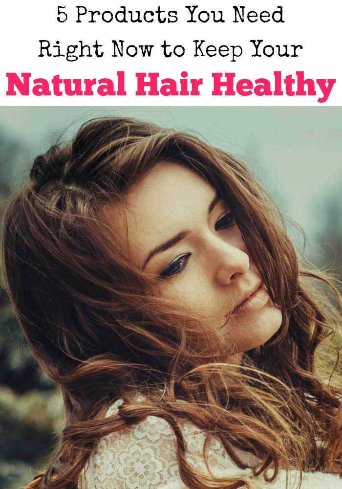 We all want healthy hair, and lucky for you I have the five products you need right now to keep your natural hair healthy. Tame the mane!