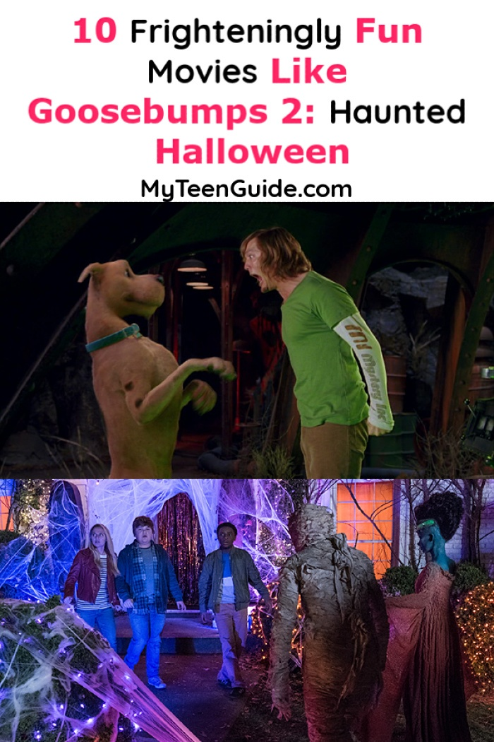If you're looking for a few great frighteningly fun movies likeGoosebumps 2: Haunted Halloween, we've got you covered! Check out these 10 awesome flicks!