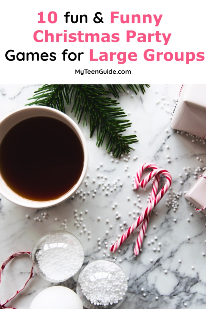 If you're looking for fun & funny Christmas party games for large groups, you're in the right spot! Read on for 10 hilarious ideas!