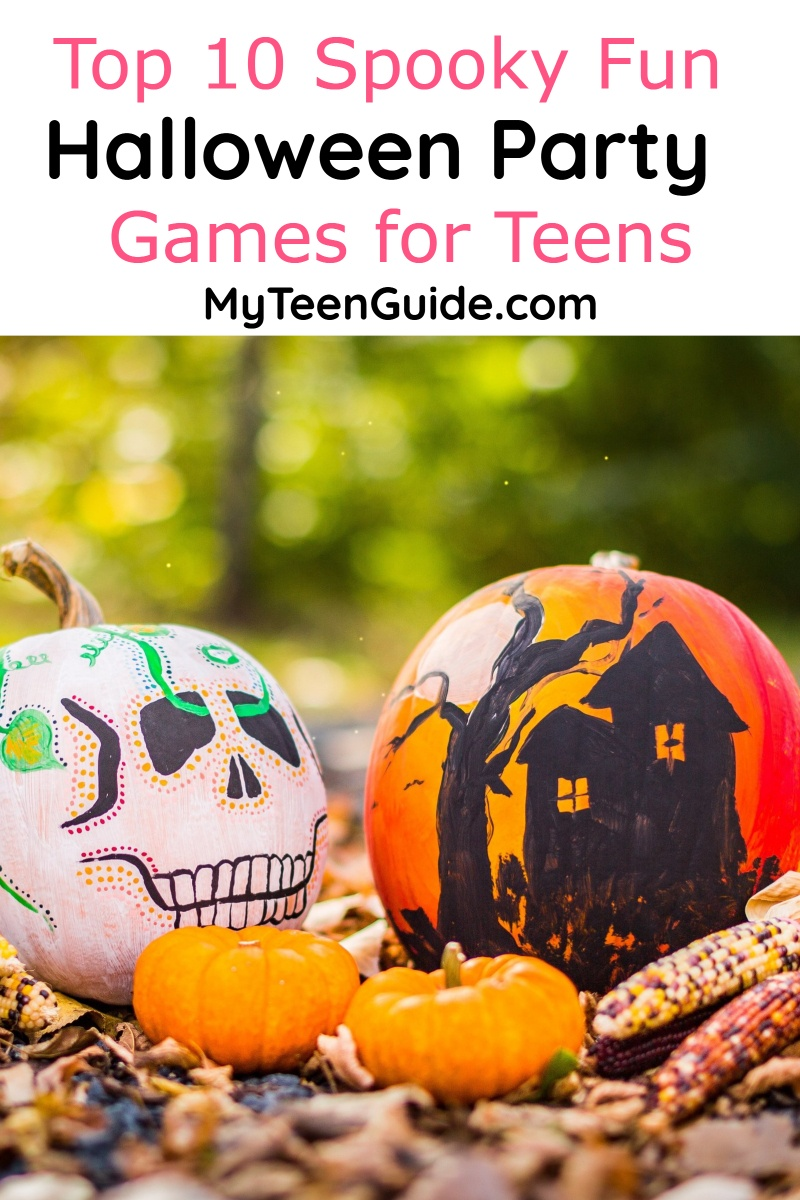 If you need some great Halloween party games for teens to take your spooky bash to the next level, we've got you covered! Check out our top 10 favorites!