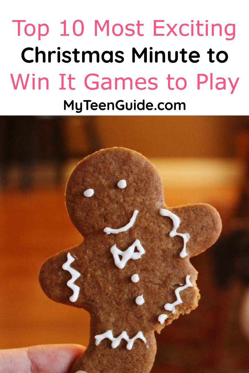 If you're looking for ways to keep the holiday cheer going throughout your party, check out our favorite Christmas Minute to Win It Games!