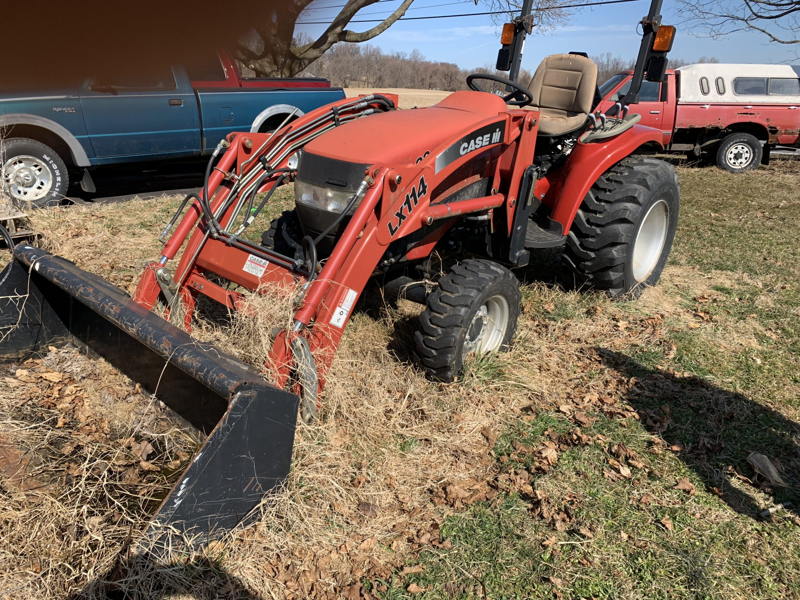 Case Tractor SOLD for $6,600