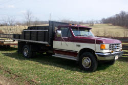 Ford Dump Truck SOLD for $7,500