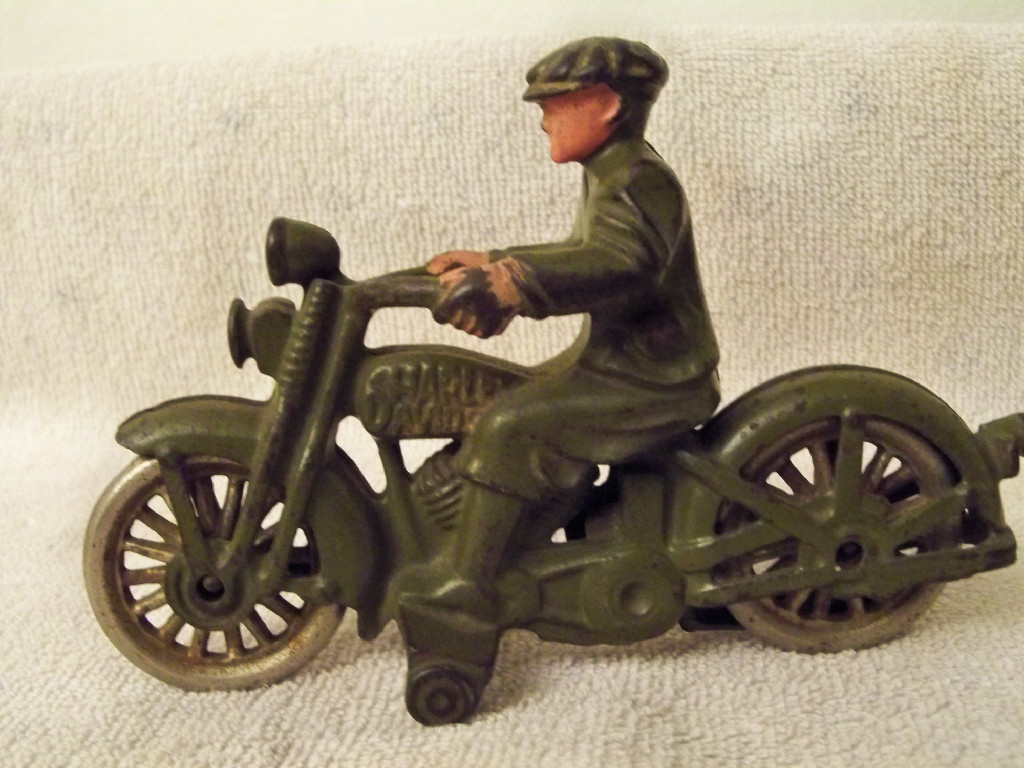 Hubley Civilian Rider SOLD for $125
