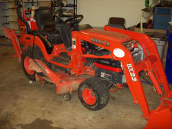 Kubota Tractor SOLD for $9,000
