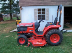 Kubota Tractor SOLD for $5,500