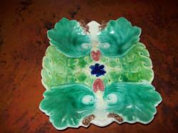 Majolica Plate SOLD for $150