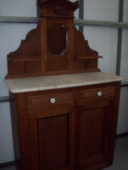 Marble Top Dresser SOLD for $250