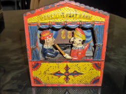 Punch and Judy Mechanical Bank SOLD for $1,200