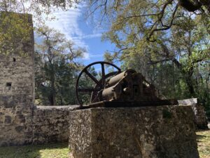 Yulee sugar mill ruins