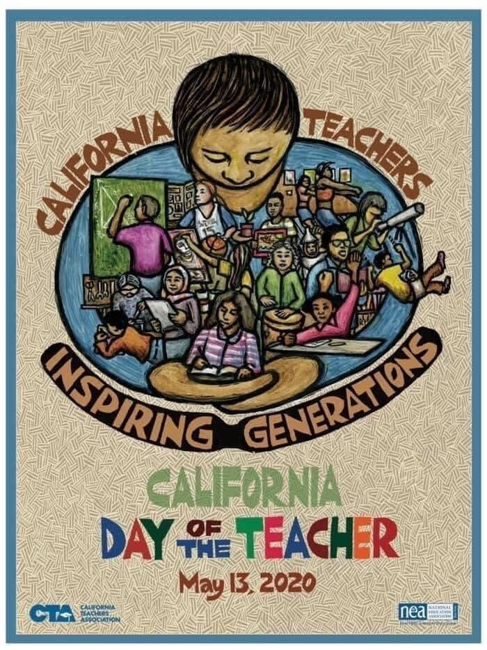 California Day of the Teacher-May 13, 2020