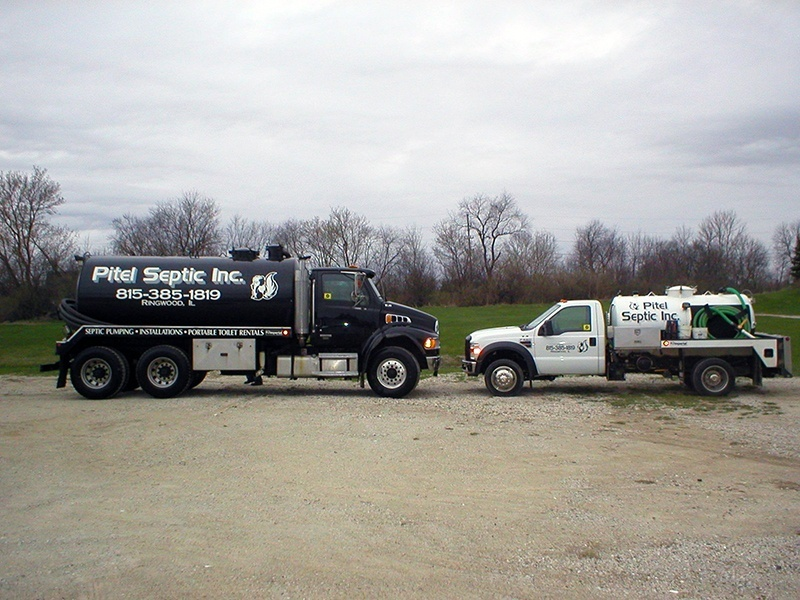 Pitel Septic, Inc. Pump Trucks