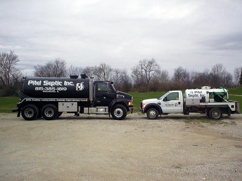 Pitel Septic, Inc. Pump Trucks