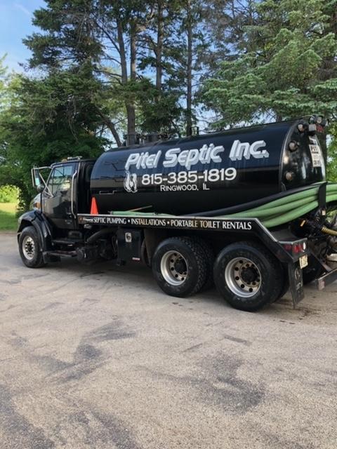 Pitel Septic, Inc. Pump Truck