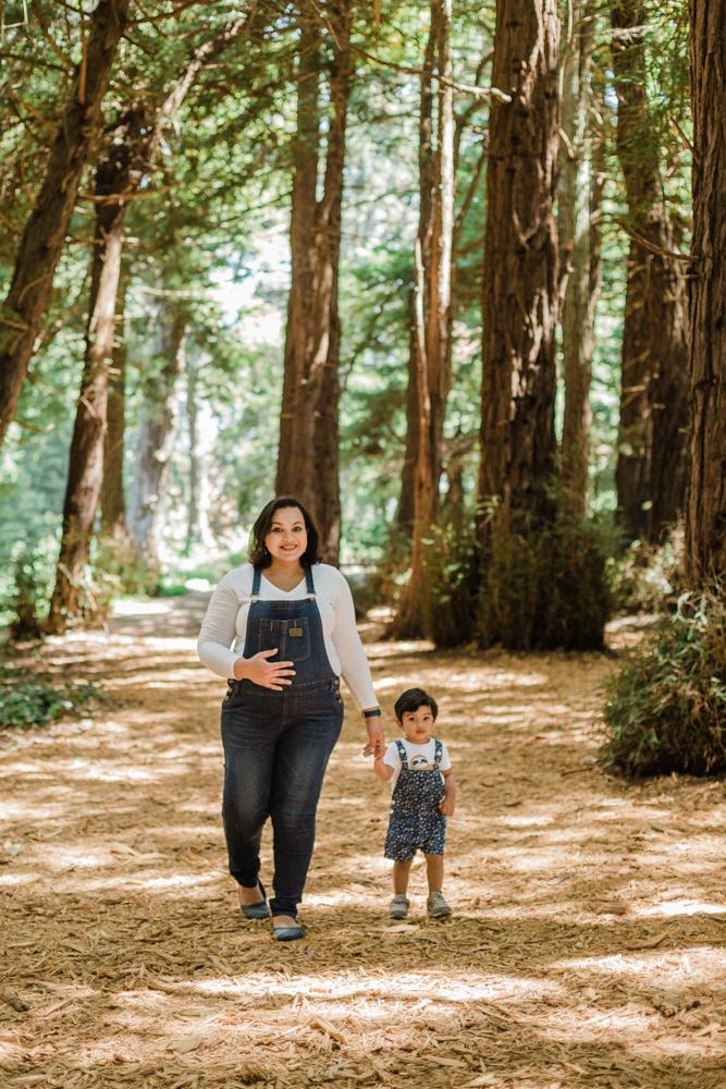 maternity photos in Golden Gate Park