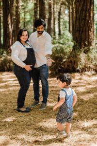 family photos taken in Golden Gate Park