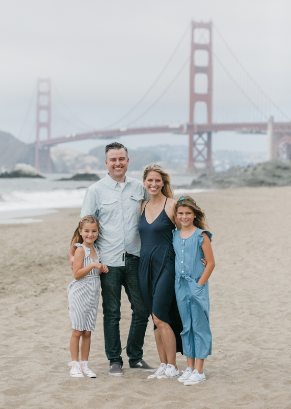 Baker Beach Family Portraits