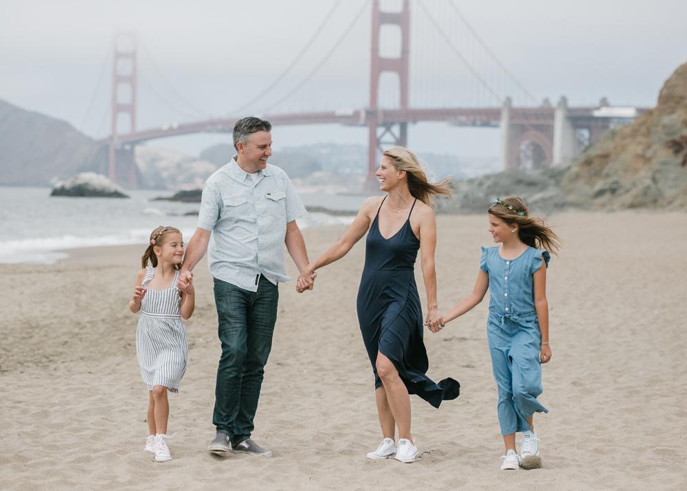 Golden Gate Bridge Family Photos