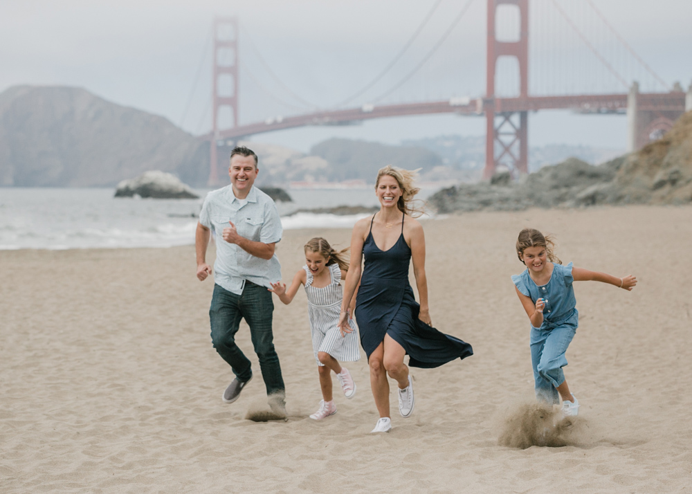 Baker Beach Family Time