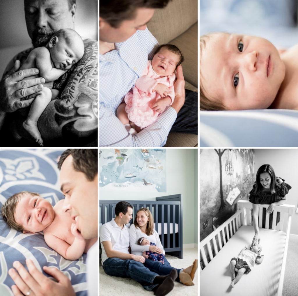 lifestyle newborn photographer San Francisco