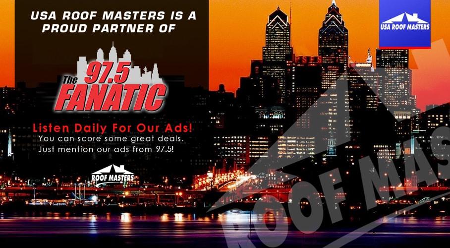 USA Roof Masters Bensalem PA Bucks County 97.5 Radio Ad
