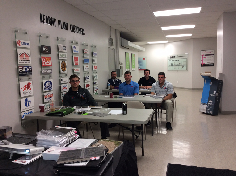 Roof Masters of Philly at Owens-Corning Plant