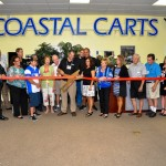Coastal Carts Ribbon Cutting Celebration