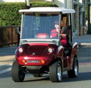 Eagle Street legal electric cart Toredor Red