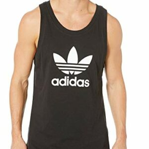 adidas Originals Men's Trefoil Tank Top, black, X-Large