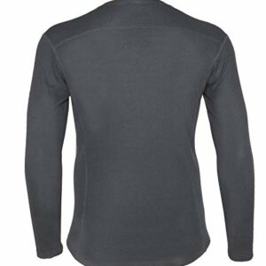 Carhartt Men's Force Midweight Classic Thermal Base Layer Long Sleeve Shirt, Shadow, Medium