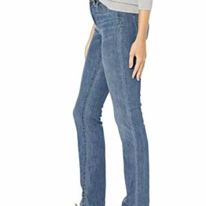 Amazon Essentials Women's Slim Straight Jean, Medium Wash, 12 Regular