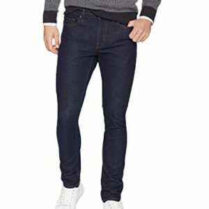 Amazon Essentials Men's Skinny-Fit Stretch Jean, Rinse, 38W x 30L