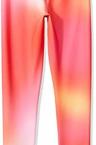 Amazon Essentials Big Girls' Full-Length Active Legging, Ombre Pink, M