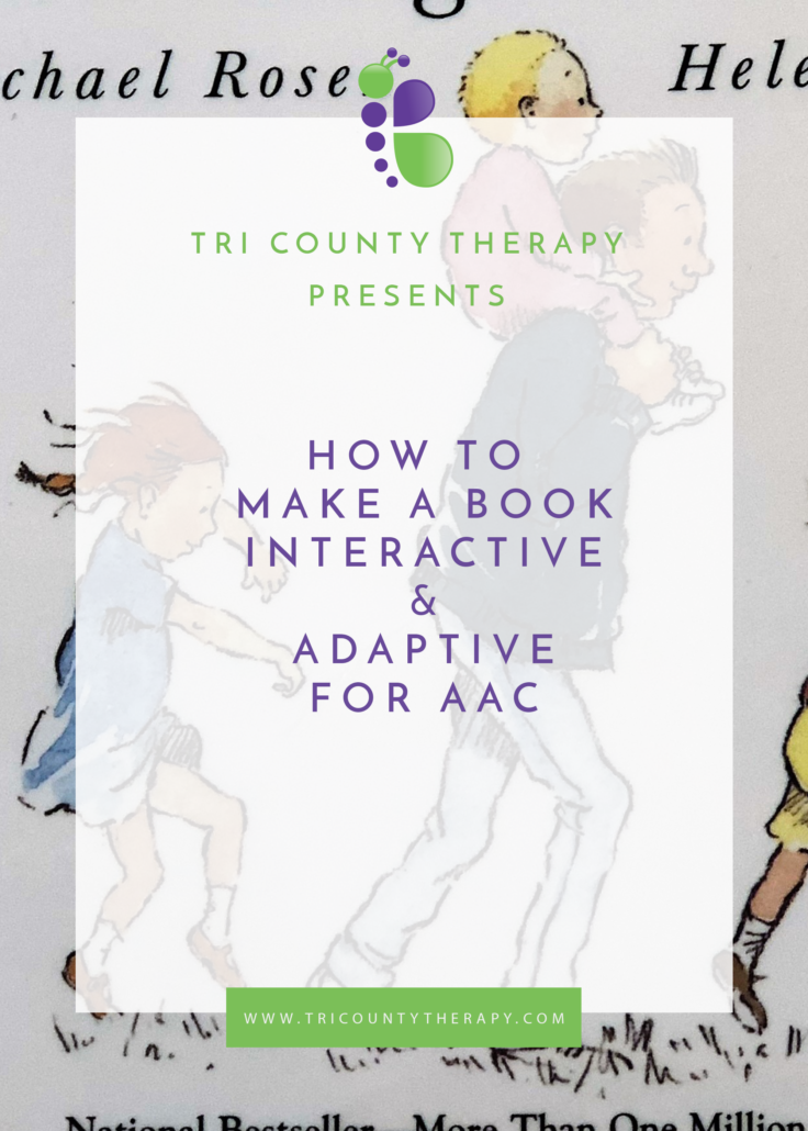 How To Make A Book Interactive & Adaptive for AAC