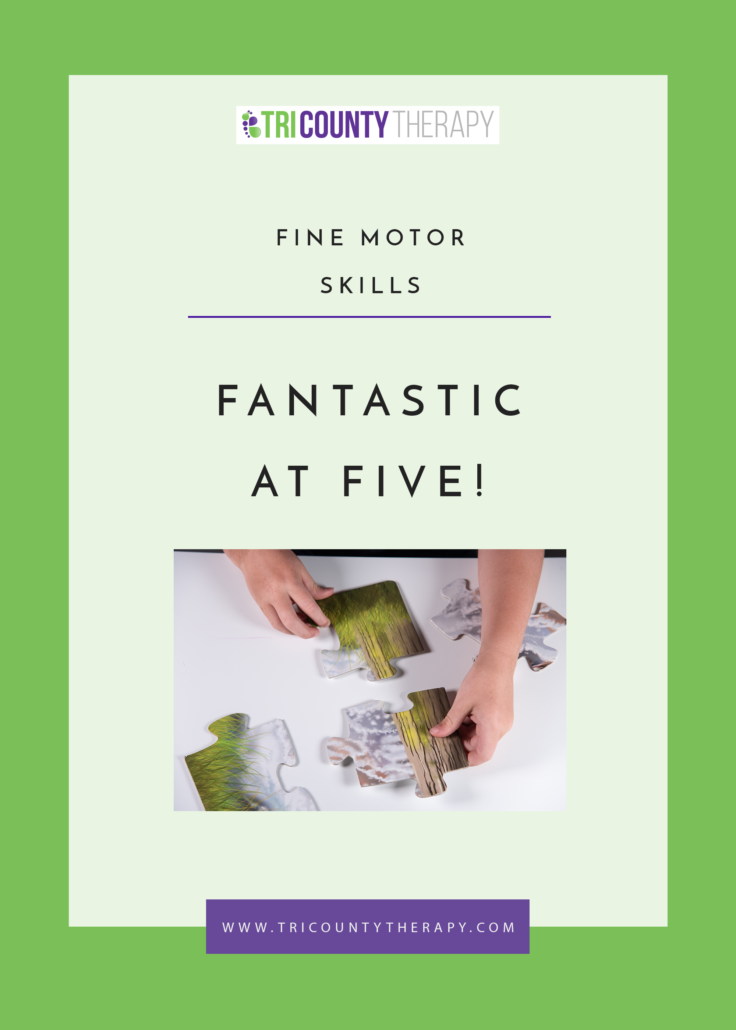Fine Motor Skills: Preschool Readiness, Fantastic at Age 5