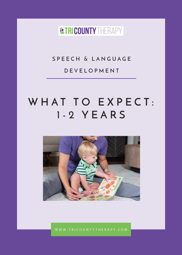 Speech & Language Development: What to Expect, 1-2 Years Old