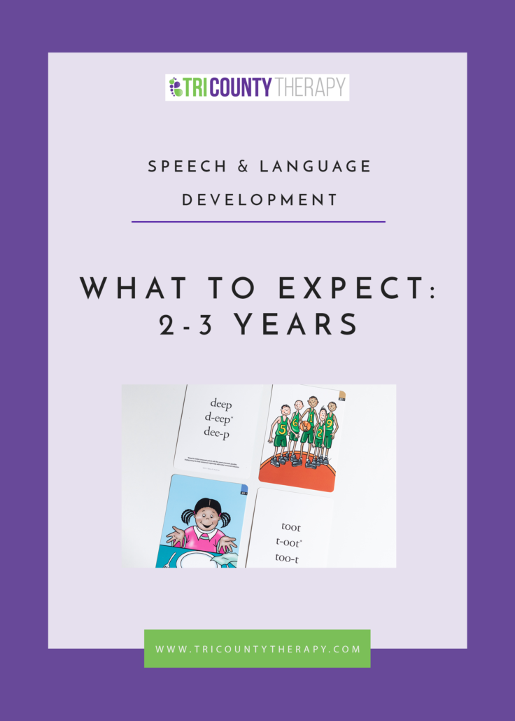 Speech & Language Development: What to Expect, 2-3 Years Old