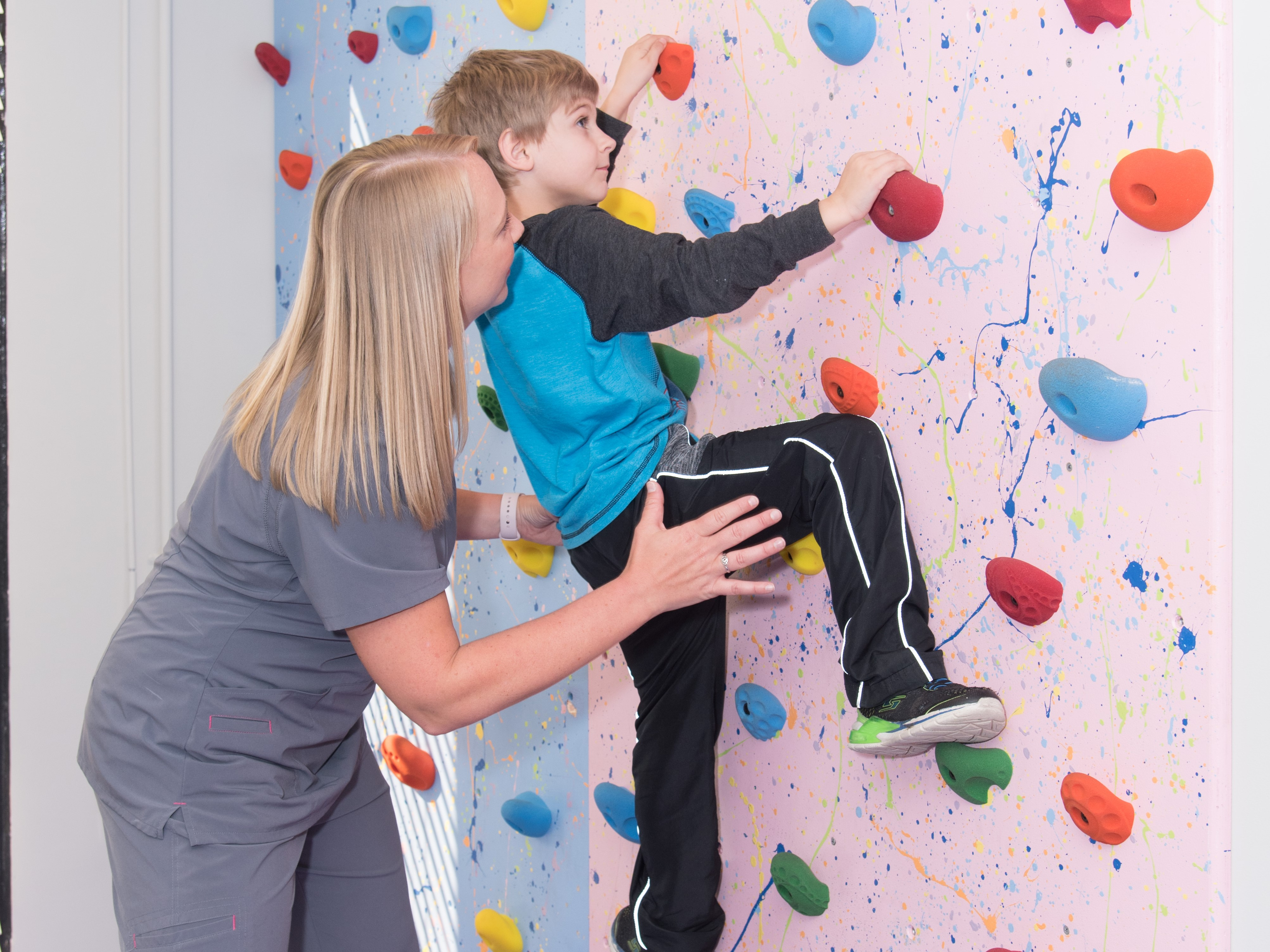 Tri-County Therapy Physical Therapy and Rock Wall Charleston, SC