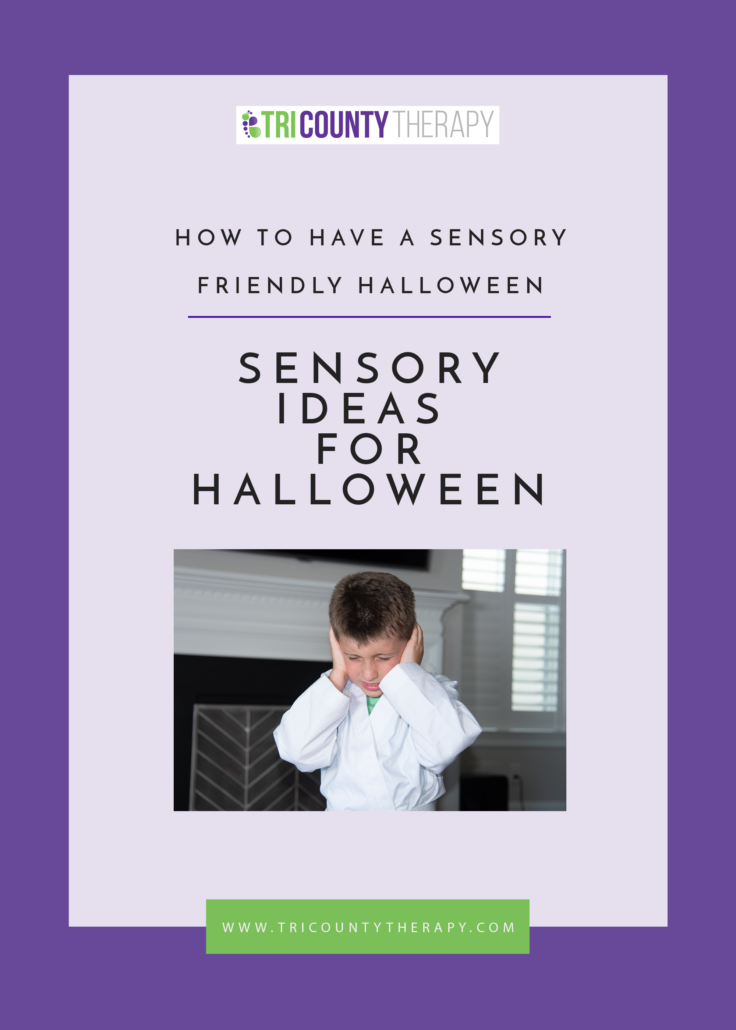 How To Have A Sensory-Friendly Halloween: Sensory Ideas for Halloween/Trick-or-Treating