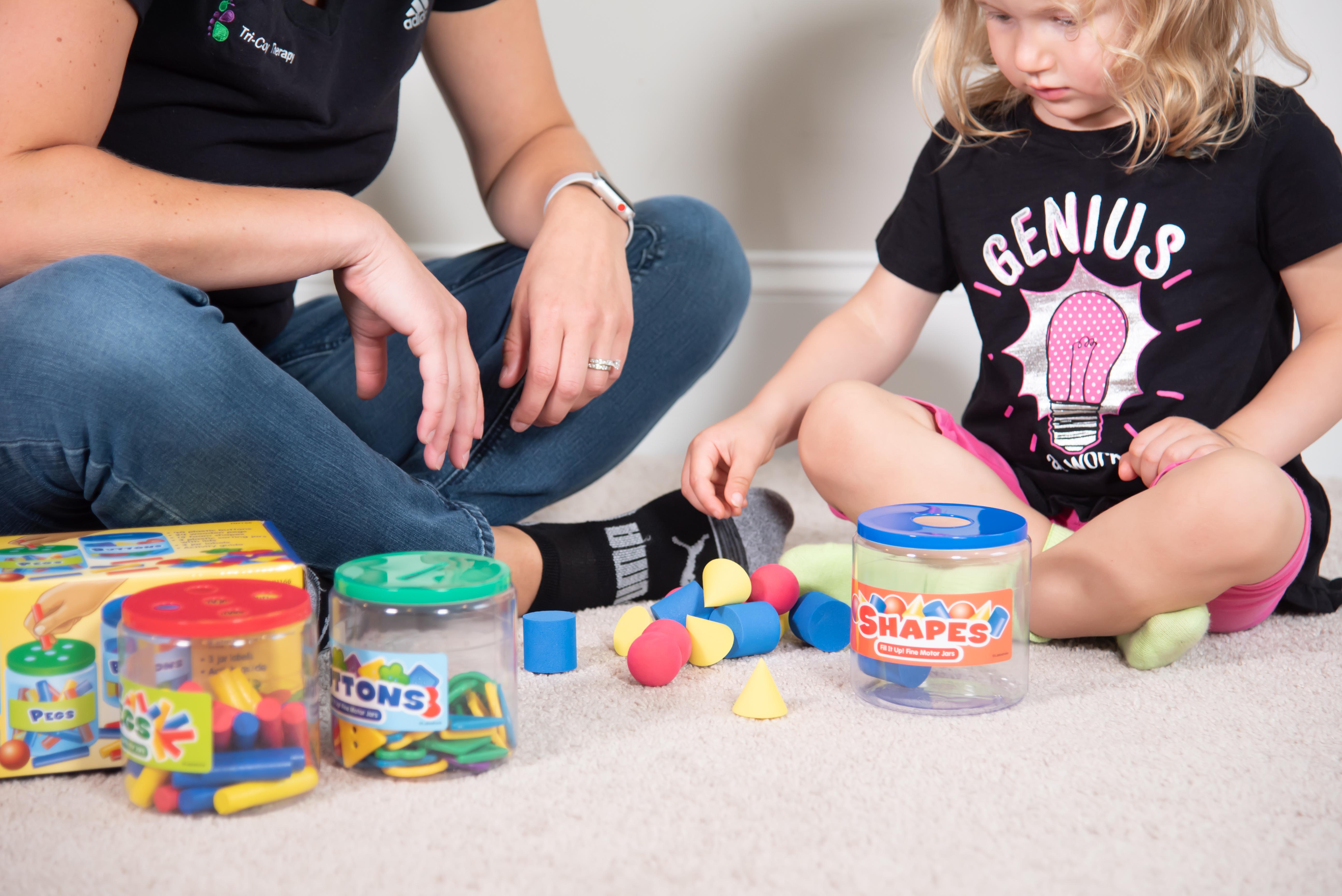 Tri-County Therapy pediatric OT Fine Motor Skills
