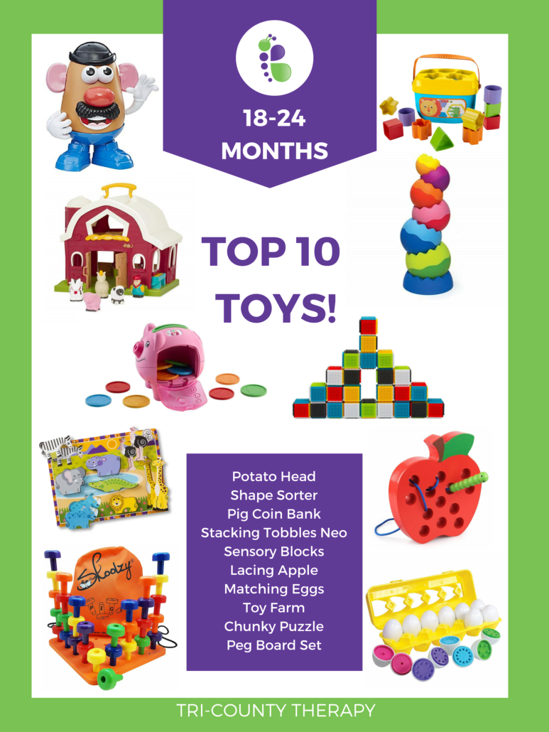 Top Toy Picks: 18-24 Months
