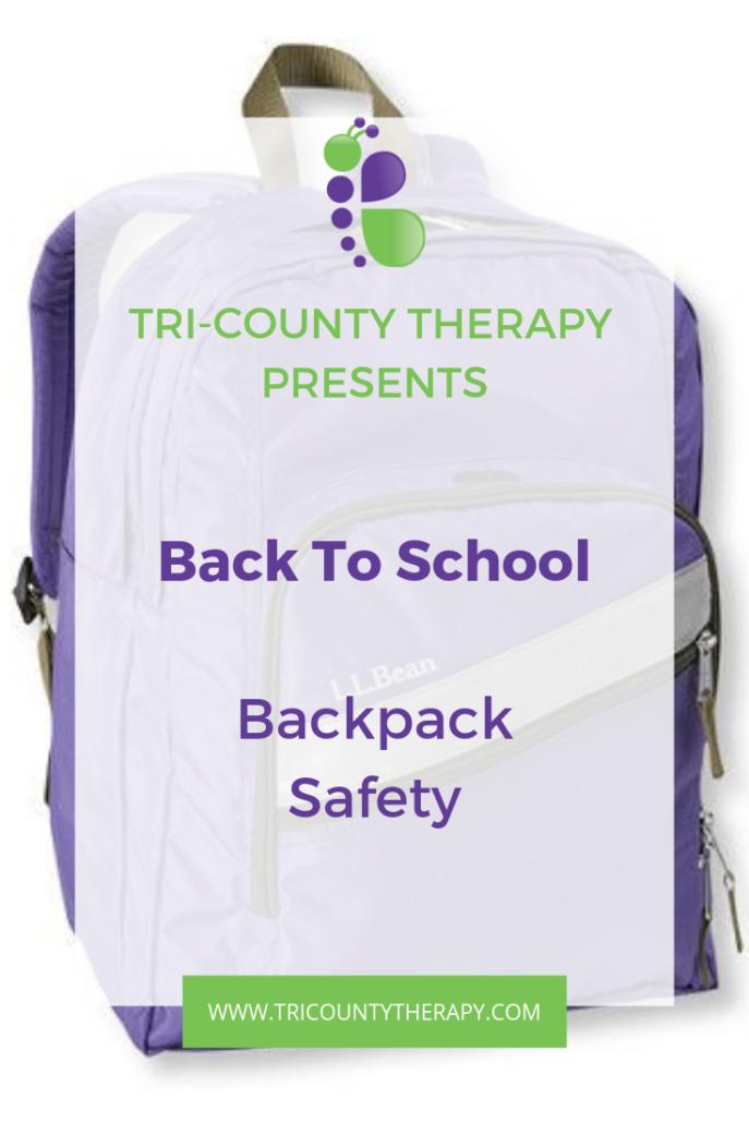 Back to School Slump: Backpack Safety